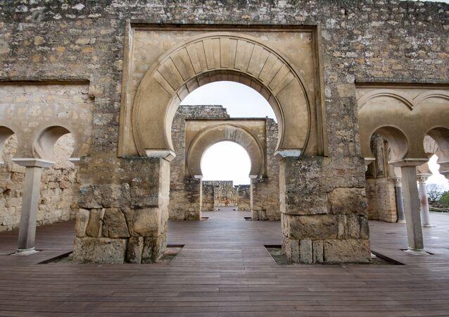 La ciudad califal de Medina Azahara, Córdoba, España