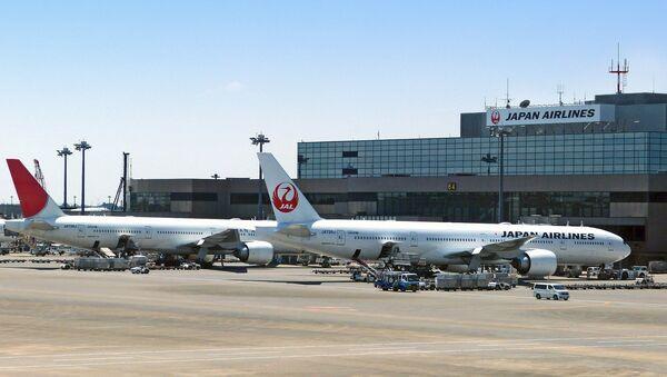 Un avión de Japan Airlines - Sputnik Mundo