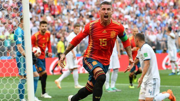 Sergio Ramos, España, tras su gol a Rusia - Sputnik Mundo