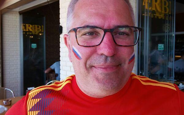 El presidente de la Casa Rusa de Alicante, Alexandr Chepurnoy - Sputnik Mundo
