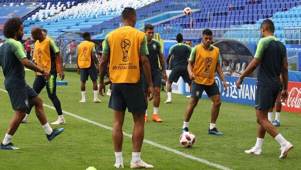 La selección de fútbol de Brasil - Sputnik Mundo