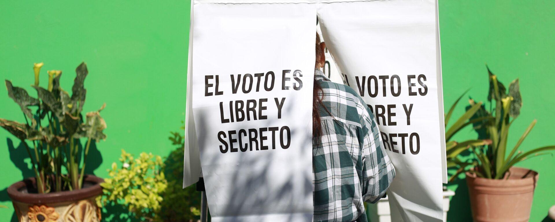Elecciones en México - Sputnik Mundo, 1920, 14.09.2021