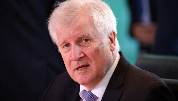 Horst Seehofer, ministro del Interior y líder de la Unión Social Cristiana de Baviera - Sputnik Mundo