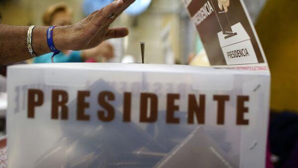 Elecciones presidenciales en México de 2018 - Sputnik Mundo