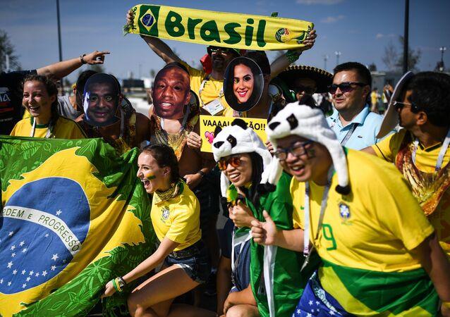 Hinchas de Brasil