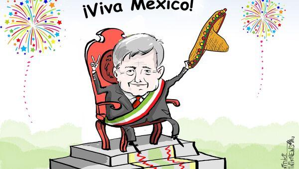México opta por un futuro de izquierda con la elección del nuevo presidente - Sputnik Mundo
