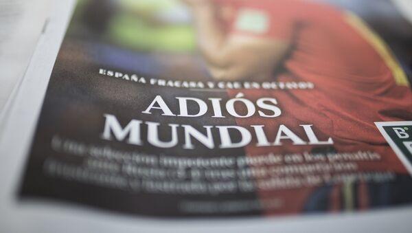 Una revista sobre el fiasco de la selección española - Sputnik Mundo