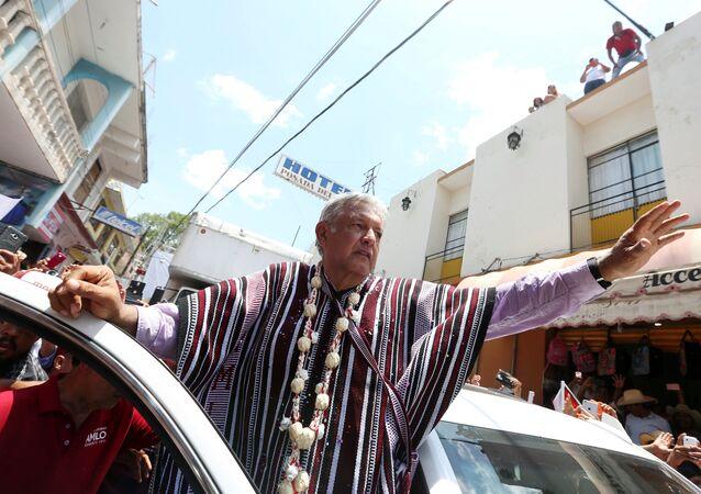 Andrés Manuel López Obrador, el presidente electo de México