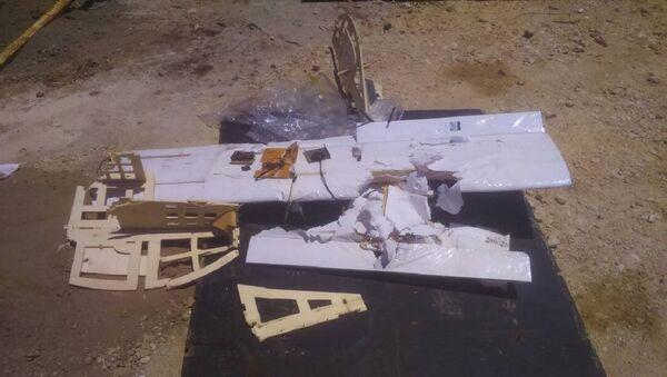 Uno de los drones que atacaron la base de Hmeymim - Sputnik Mundo