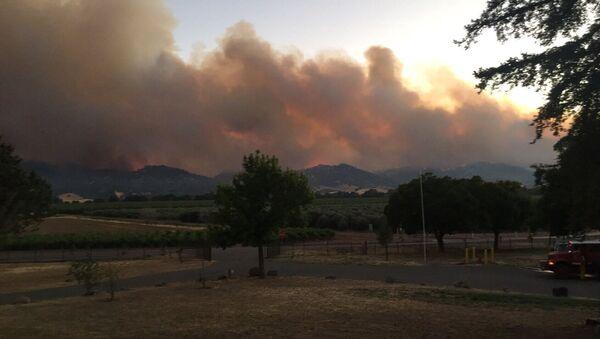 Incendios en California, EEUU - Sputnik Mundo