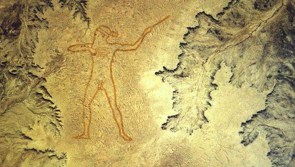 El Hombre de Marree, geoglifo en Australia - Sputnik Mundo