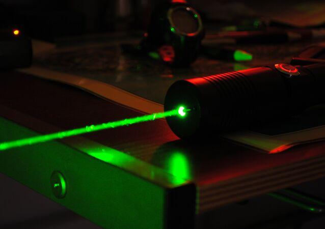 Un láser (imagen referencial)