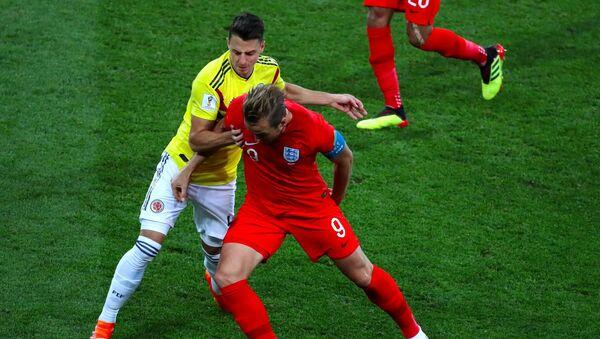 Colombia juega contra Inglaterra en los octavos del final - Sputnik Mundo