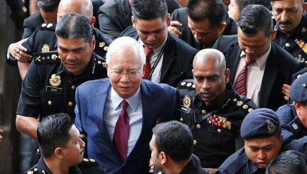 Najib Razak, ex primer ministro de Malasia - Sputnik Mundo