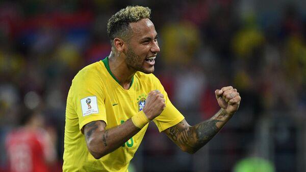 Neymar da Silva Santos, futbolista brasileño - Sputnik Mundo