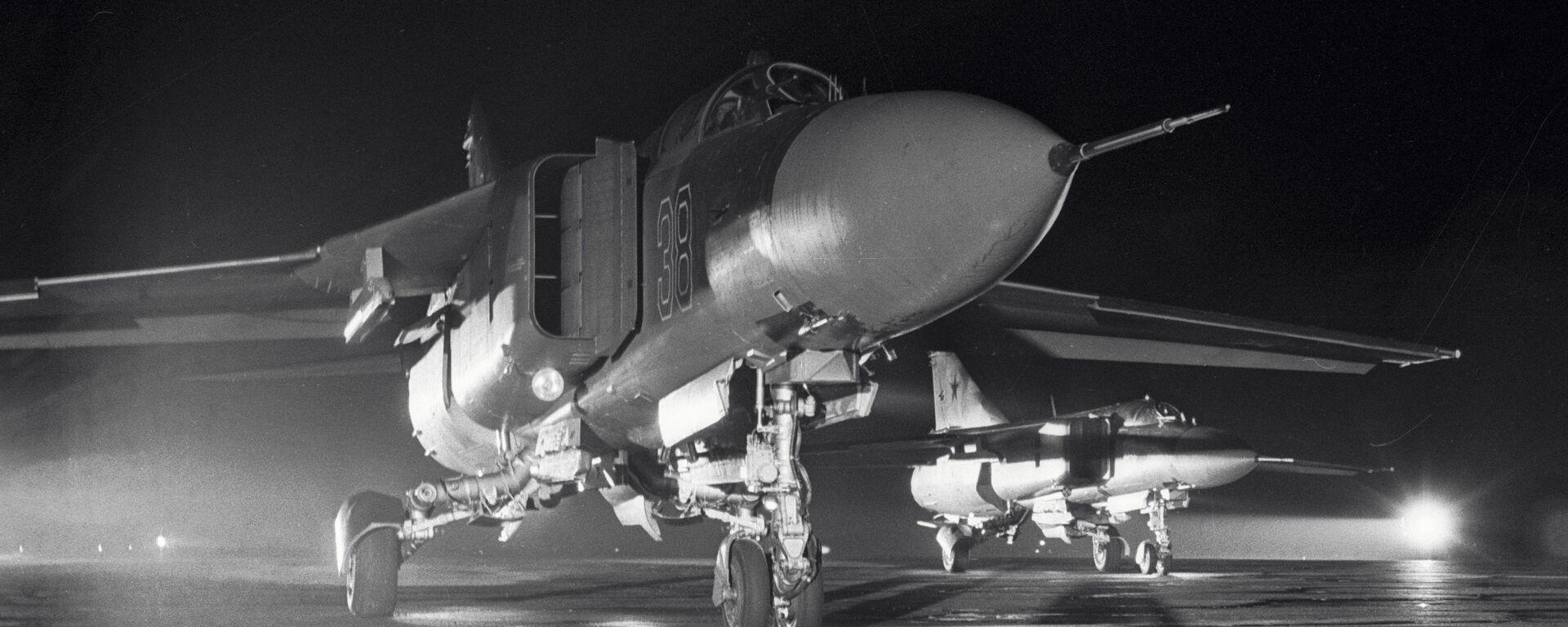 Un caza MiG-23, imagen archivo - Sputnik Mundo, 1920, 04.07.2018