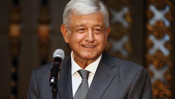Andrés Manuel López Obrador, presidente electo de México (archivo) - Sputnik Mundo