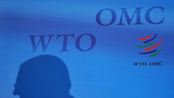 El logo de la OMC - Sputnik Mundo