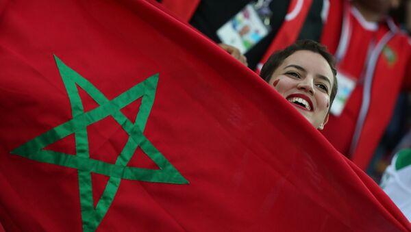 Una hincha de Marruecos - Sputnik Mundo