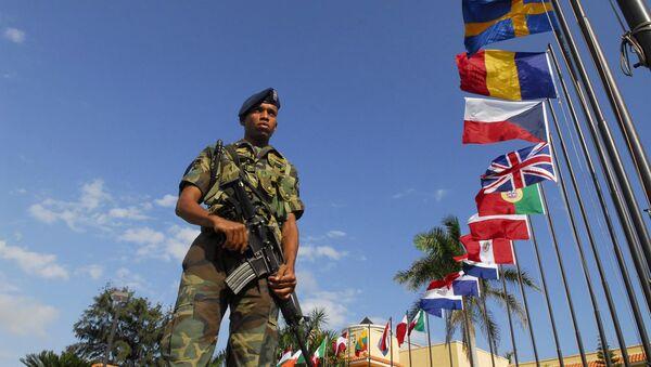 Soldado dominicano - Sputnik Mundo