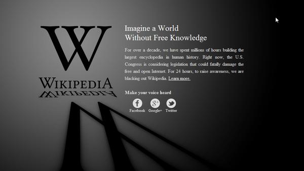 Logo de Wikipedia - Sputnik Mundo