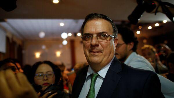 Marcelo Ebrard, exalcalde de la Ciudad de México - Sputnik Mundo