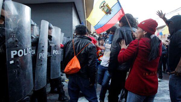 Marcha de apoyo a Rafael Correa en Ecuador - Sputnik Mundo