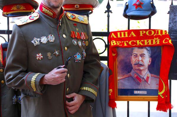 Hinchas extranjeros descubren los secretos de Stalin - Sputnik Mundo