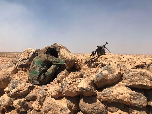 El Ejército sirio logra llegar a las fronteras de Jordania - Sputnik Mundo