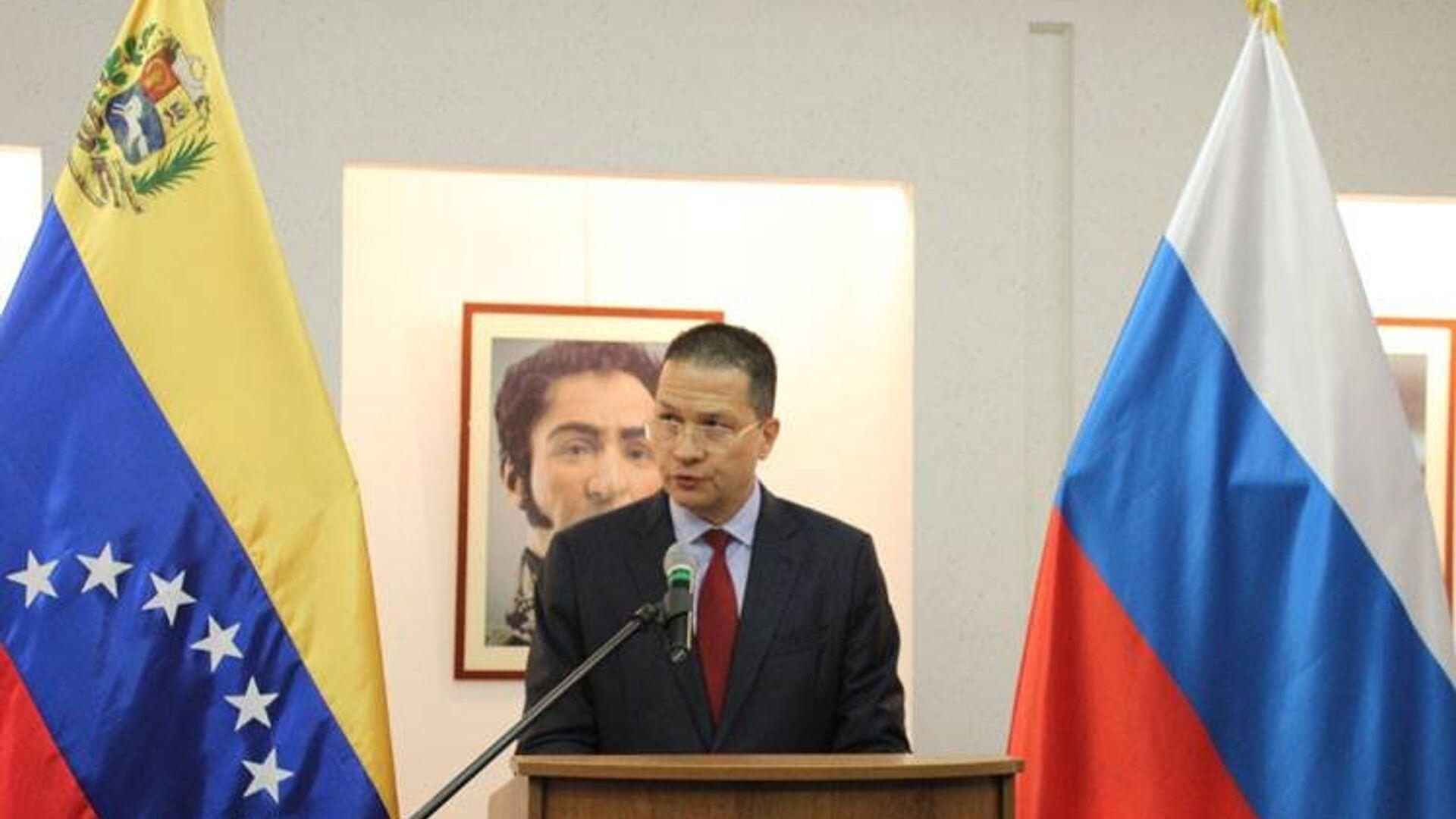 Carlos Rafael Faría Tortosa, embajador de Venezuela - Sputnik Mundo, 1920, 30.08.2021