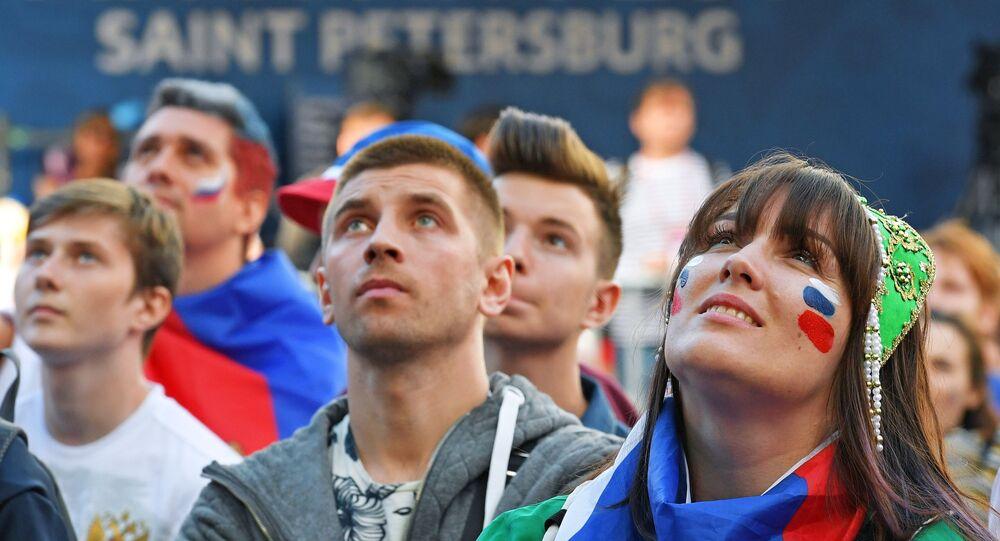 Fan Zone en San Petersburgo