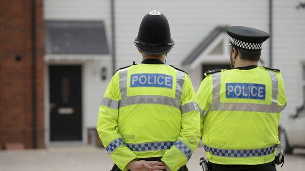 Policía en el Reino Unido - Sputnik Mundo