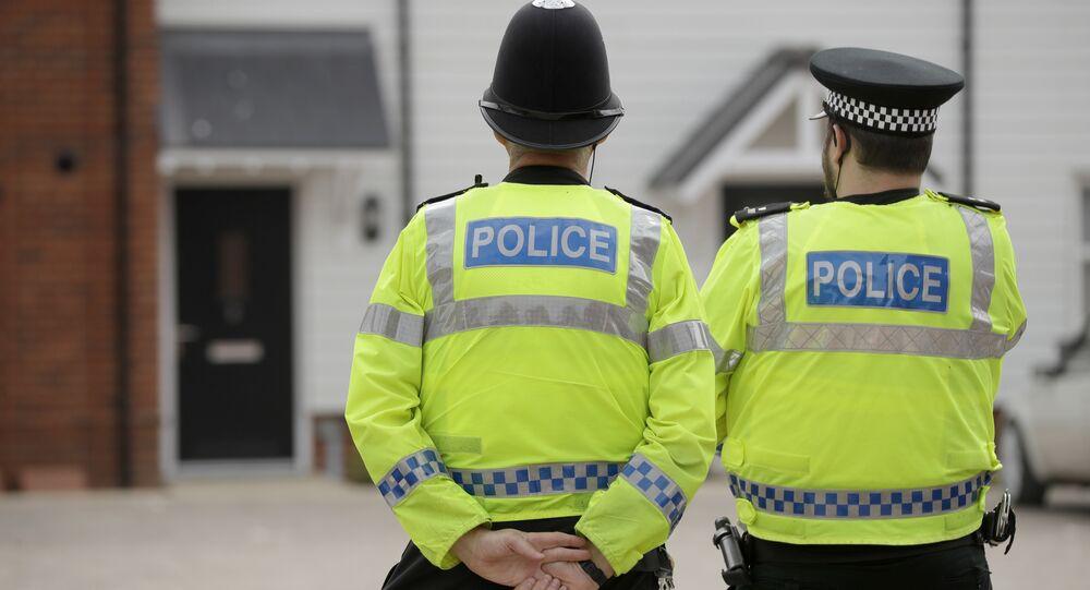Policía del Reino Unido (archivo)