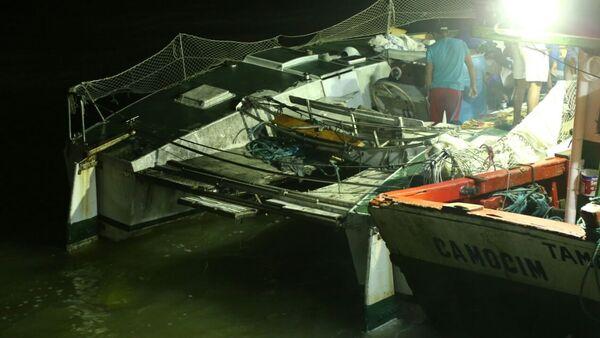 Un catamarán en Maranhão - Sputnik Mundo