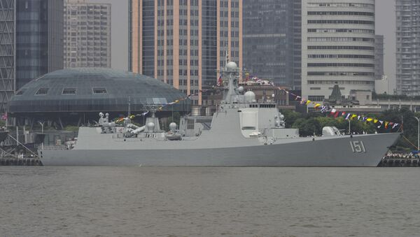 El destructor portamisiles chino Zhengzhou clase Type 052C (archivo) - Sputnik Mundo