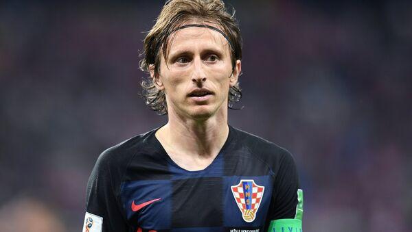 El capitán de la selección croata, Luka Modric - Sputnik Mundo
