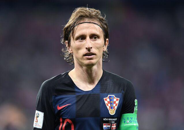 El capitán de la selección croata, Luka Modric