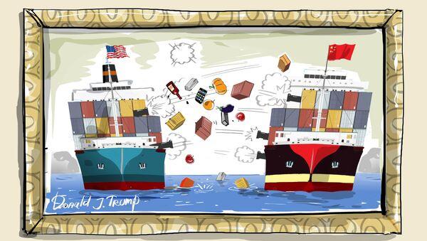La gran guerra comercial - Sputnik Mundo