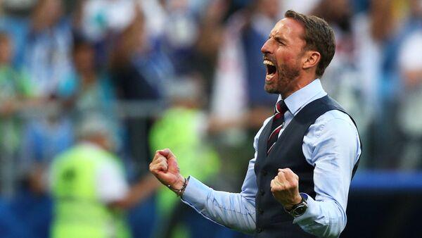 Gareth Southgate, director técnico de la selección de Inglaterra - Sputnik Mundo
