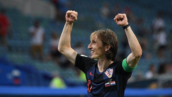 Luka Modric, capitán de la selección de Croacia - Sputnik Mundo