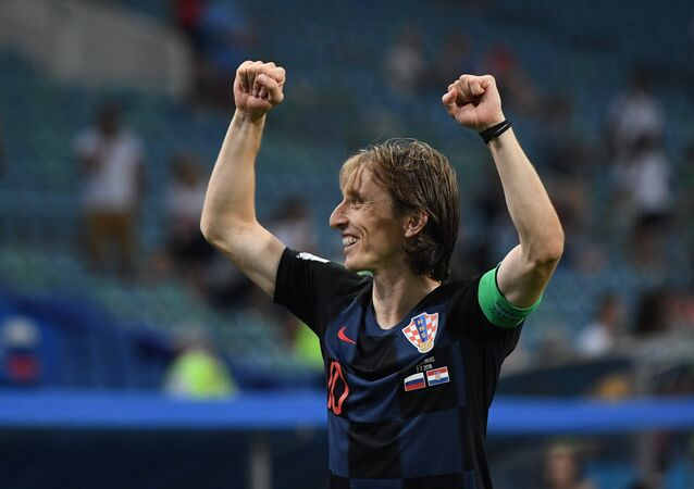 Luka Modric, capitán de la selección de fútbol de Croacia