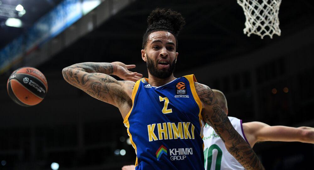 Tyler Honeycutt en el equipo Khimki