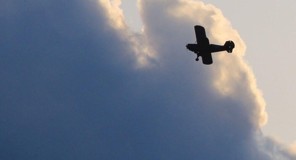 Una avioneta, imagen referencial
