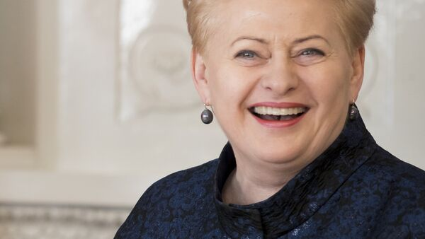 Dalia Grybauskaite, presidenta de Lituania - Sputnik Mundo