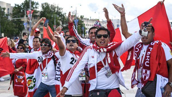 Hinchas de la selección peruana - Sputnik Mundo