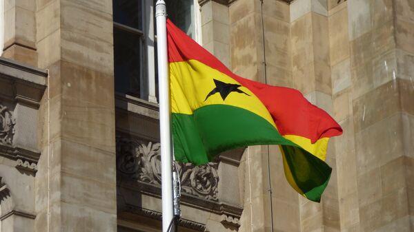 Bandera de Ghana - Sputnik Mundo