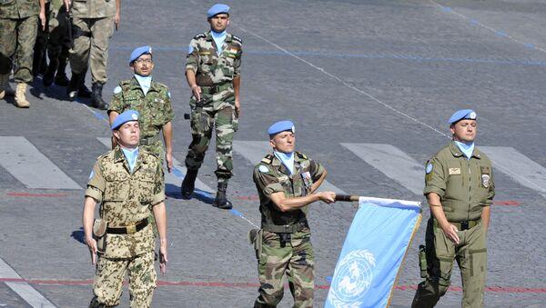 Soldados de paz de la ONU - Sputnik Mundo