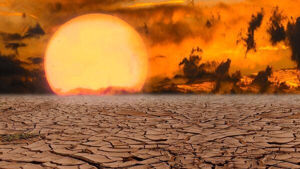 Una catástrofe ecológica, imagen ilustrativa - Sputnik Mundo