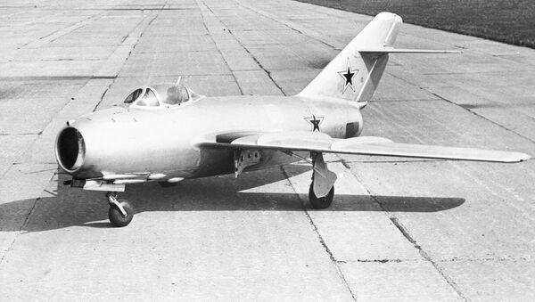 El caza de frente MiG-15BSP - Sputnik Mundo
