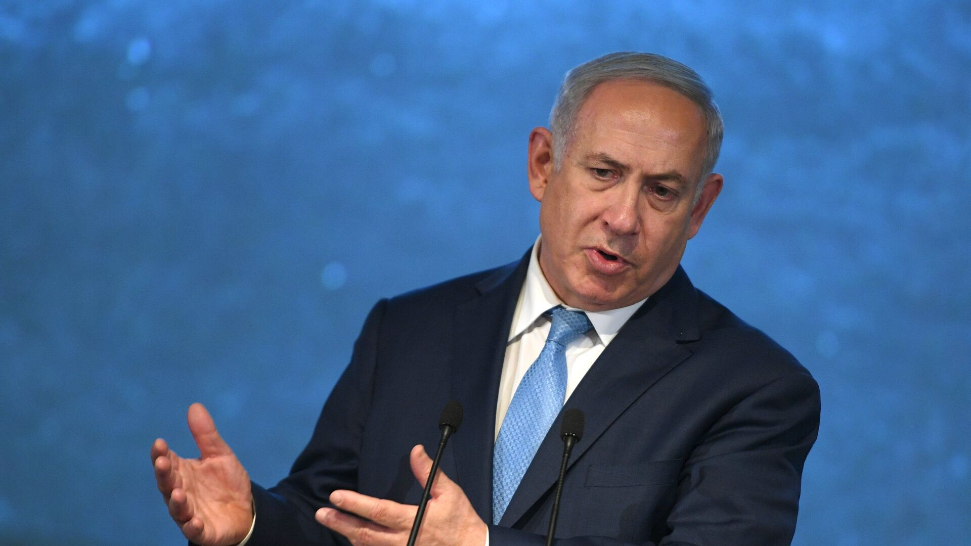 Benjamín Netanyahu, primer ministro de Israel - Sputnik Mundo, 1920, 02.05.2021